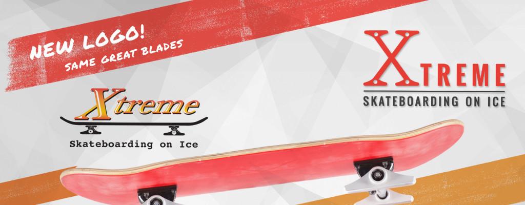 Xtreme skateboarding on ice